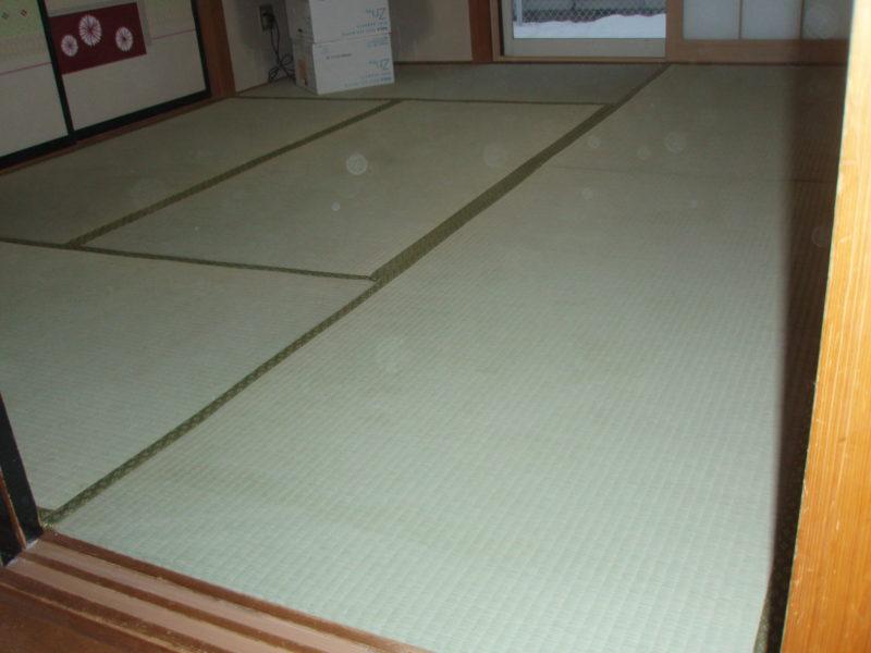 畳の表替え後