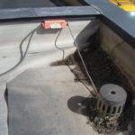 屋上シート防水の修繕