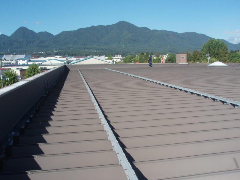 屋根の塗装 施工後